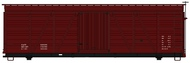 Accurail  HO Data Only Mineral Red 36' Fowler Wood Boxcar ACU1198