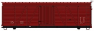 Accurail  HO Data Only Oxide 36' Fowler Wood Boxcar ACU1199