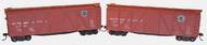 Accurail  HO Ob Wood Boxcar Sp 2#Set ACU1218