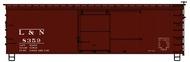 Accurail  HO 36' Dbl Sht Wood Boxcar L&N ACU1305