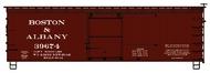 Accurail  HO 36' Dbl Sht Wood Boxcar B&A ACU1306
