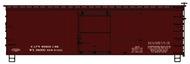 Accurail  HO 36'Dblsht Bxcar Stlend Data ACU1498