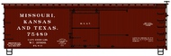 Accurail  HO 36'Ds Wood Boxcar Mkt ACU1705