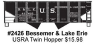 Accurail  HO Usra Hopper B&Le ACU2426