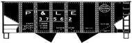 Accurail  HO Pittsburgh & Lake Erie USRA 55-Ton Twin Hopper ACU2570