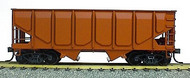 Accurail  HO Undecorated 55-Ton Panel Side Twin Hopper ACU2800
