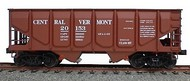 Accurail  HO Central Vermont 55-Ton Panel Side Twin Hopper ACU2812