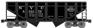 Accurail  HO New York Central 55-Ton Panel Side Twin Hopper ACU2816