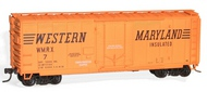 Accurail  HO 40'Pd Steel Boxcar Wm ACU3123