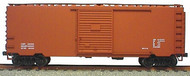 Accurail  HO 40' Ps-1 Steel Boxcar Data ACU3499