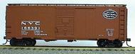 Accurail  HO 40' Aar Steel Boxcar Nyc ACU3505