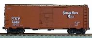 Accurail  HO 40' Aar Steel Boxcar Nkp ACU3519