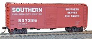 Accurail  HO Southern 40' AAR Steel Boxcar ACU3557