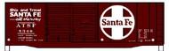 Accurail  HO Santa Fe 40' AAR Dbl Door Steel Boxcar ACU3635