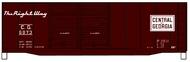 Accurail  HO 40'Dd Steel Boxcar Cofg ACU3637