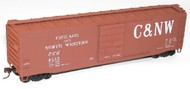Accurail  HO Chicago & Northwestern 50' Superior Doors Steel Riveted Boxcar ACU5502