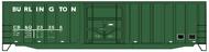 Accurail  HO Burlington CB&Q 50' Exterior Post Boxcar ACU5652