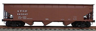 Accurail  HO Santa Fe AAR 70-Ton Offset-Side Triple Hopper ACU7501