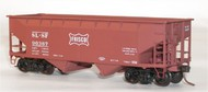 Accurail  HO SL-SF Frisco 50-Ton Offset-Side Twin Hopper ACU7708