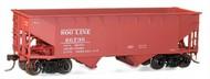 Accurail  HO Soo Line 50-Ton Offset-Side Twin Hopper ACU7722