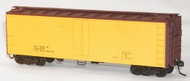 Accurail  HO Data Only Yellow 40' Swing Door Steel Reefer ACU8395