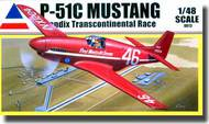 Accurate Miniatures  1/48 P-51C Mustang Bendix Transcontinental Race- Net Pricing ATE480013