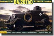 Ace Plastic Models  1/72 BA-20ZHD Armored Car (Railroad) AMO72210