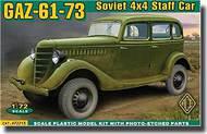 Ace Plastic Models  1/72 Soviet Gaz 61-73 4x4 Staff Car   AMO72213