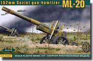 Ace Plastic Models  1/72 ML20 Soviet 152mm WWII Howitzer Gun AMO72227