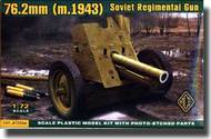 Ace Plastic Models  1/72 Soviet WW II 76.2mm 1943 Regimental Gun AMO72244