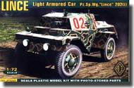 Ace Plastic Models  1/72 PzSpWg202(i) Lince Light Armored Army Car AMO72249