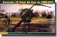 Ace Plastic Models  1/72 Russian WW I 76.2MM Antiaircraft Gun M.1900/02P. AMO72265