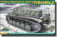 Ace Plastic Models  1/72 PzBeoWg II German Artillery Observation Vehicle w/Photo-Etched AMO72270