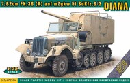 Ace Plastic Models  1/72 Sd.Kfz.6/3 DIANA 7.62cm FK.36 (R) on mZgkw 5t - Pre-Order Item ACE72574