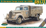 Ace Plastic Models  1/72 G917T 3t German Cargo truck (mod.1939) with metal cab - Pre-Order Item ACE72580