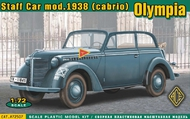 Ace Plastic Models  1/72 Olympia (cabrio) staff car, model 1938 AEC72507