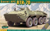 Ace Plastic Models  1/72 BTR70 Early Production Soviet Armored Personnel Carrier AMO72164