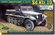 Ace Plastic Models  1/72 Sd.Kfz.10 (Demag D7) Light Infantry Halftrack AMO72225
