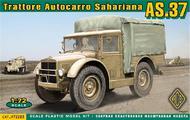 Ace Plastic Models  1/72 AS37 Trattore Autocarro Sahariana AMO72283