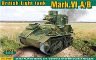 Ace Plastic Models  1/72 British Mark VI A/B Light Tank (D)<!-- _Disc_ --> AMO72291