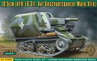 Ace Plastic Models  1/72 10,5cm leFH16 Sfl on Geschetzpanzer Mk IV(e) AMO72293