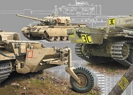 Ace Plastic Models  1/72 Long Range Centurion Mk 5LR/Mk 5/1 Main Battle Tank AMO72428