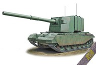 Ace Plastic Models  1/72 FV4005 Centurion Experimental Tank Destroyer w/183mm Gun AMO72429