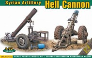 Ace Plastic Models  1/72 Hell Cannon Syrian Artillery AMO72444