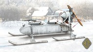 Ace Plastic Models  1/72 RF8 GAZ98K Aerosan AMO72517