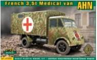 Ace Plastic Models  1/72 AHN 3,5t French Medical Van AMO72524