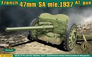 Ace Plastic Models  1/72 French 47mm SA Mod 1937 Anti-Tank Gun AMO72529