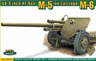 Ace Plastic Models  1/72 US 3-inch Anti-Tank Gun w/M6 Carriage AMO72531