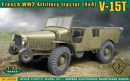 Ace Plastic Models  1/72 V15T 4x4 WWII French Artillery Tractor AMO72535