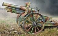 Ace Plastic Models  1/72 Cannon de 155C M1917 French Howitzer Gun w/Wooden-Type Wheels AMO72543